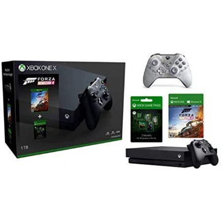 [아마존베스트]Microsoft Xbox One X 1TB Forza Horizon 4 Bundle with 3 Month Game Pass + Gears 5 Kait, 상세 설명 참조0, One Color_One Size