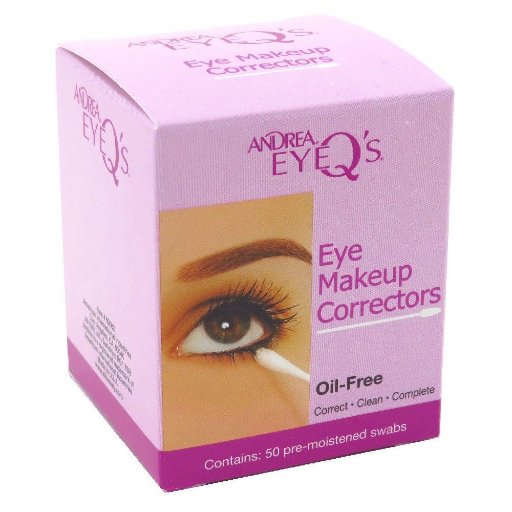 Andrea Eye Q s Eye 안드레아 아이 큐 메이크업 코렉터 스왑 50 매 2 팩, none, 상세페이지참조