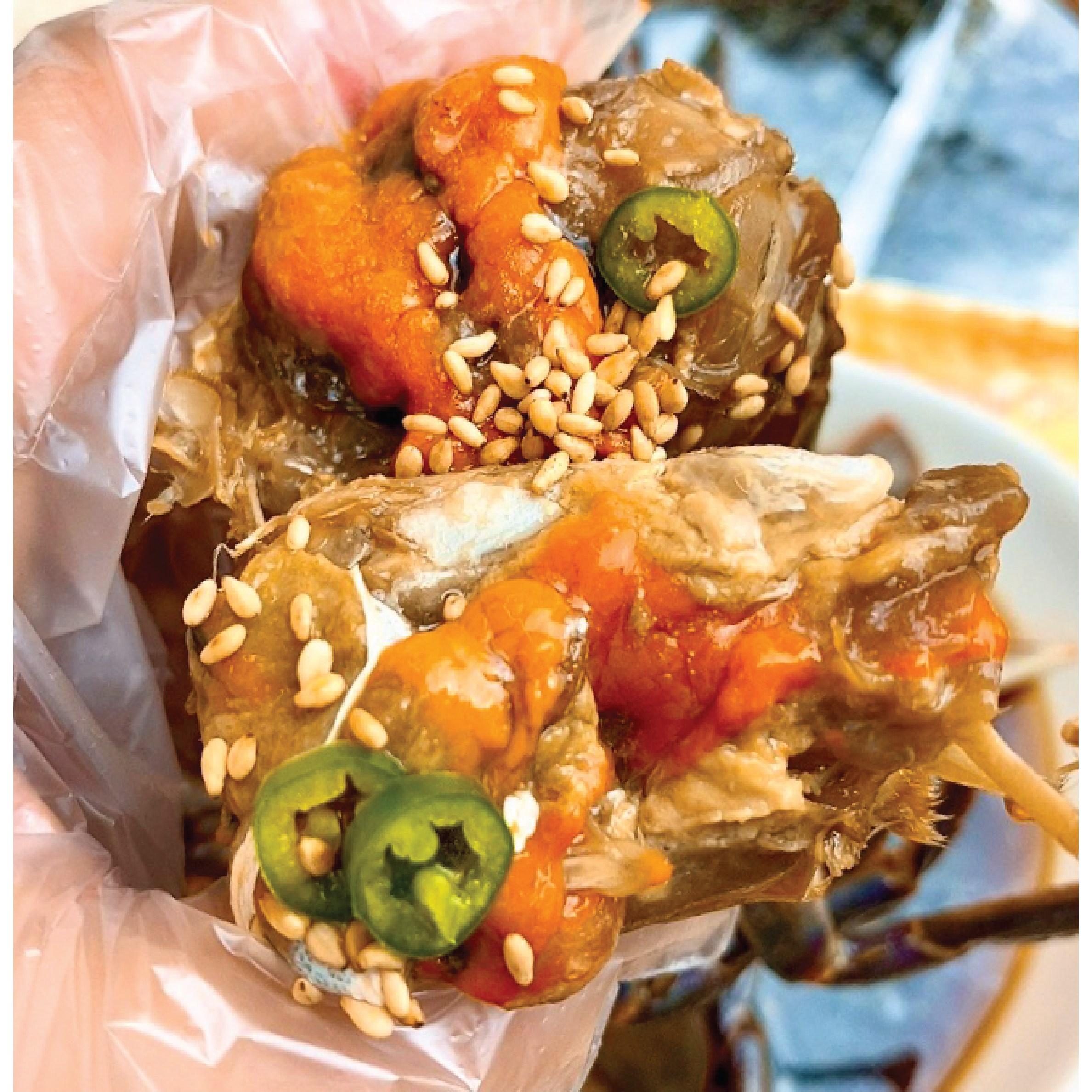 게하식당 손질된간장게장 암게3마리, 3마리, 1kg