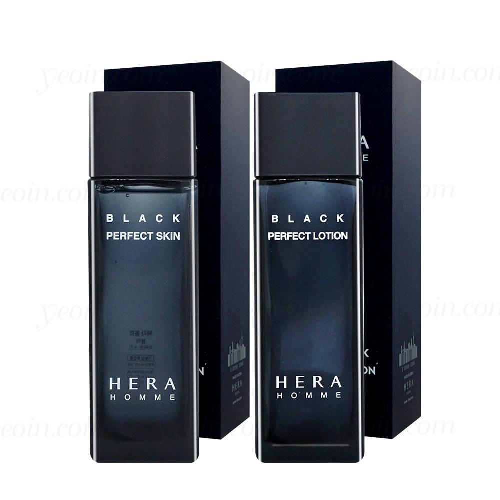 헤라 옴므 블랙 퍼펙트 2종 단품구성(스킨+로션)