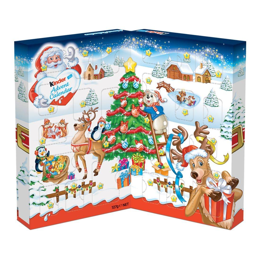 킨더 초콜릿 책모양 어드벤트 캘린더 127g 크리스마스