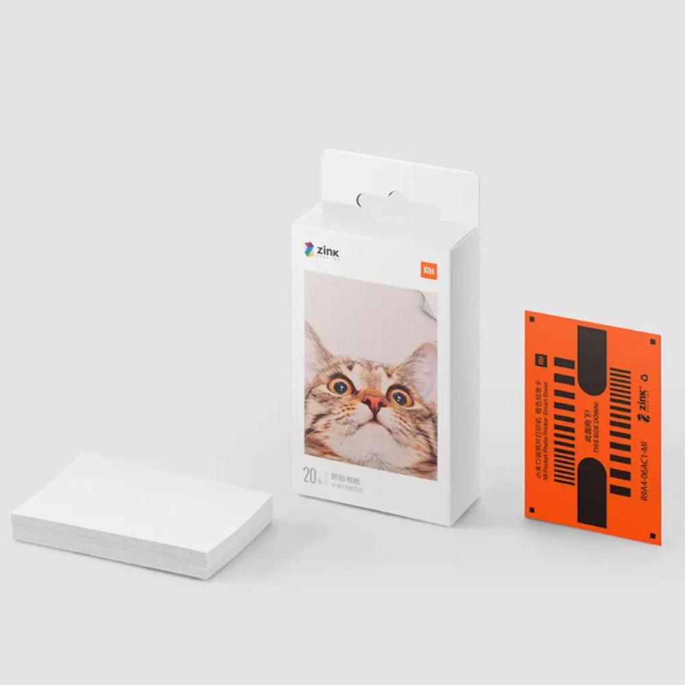 샤오미 포켓 포토 프린터 휴대용 AR 즉석 사진 프린터 핸드폰 인화기 인화지 출력기 나혼자산다 강민경, Mi Pocket Print 즉석 인화지50매-13-2290955665