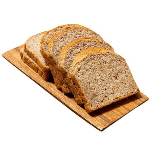[커브스코리아] 커브스 통밀빵_통밀식빵 1봉 330g (발아통밀 / 100%수제빵 / 비건빵 / 저칼로리 다이어트 식빵)