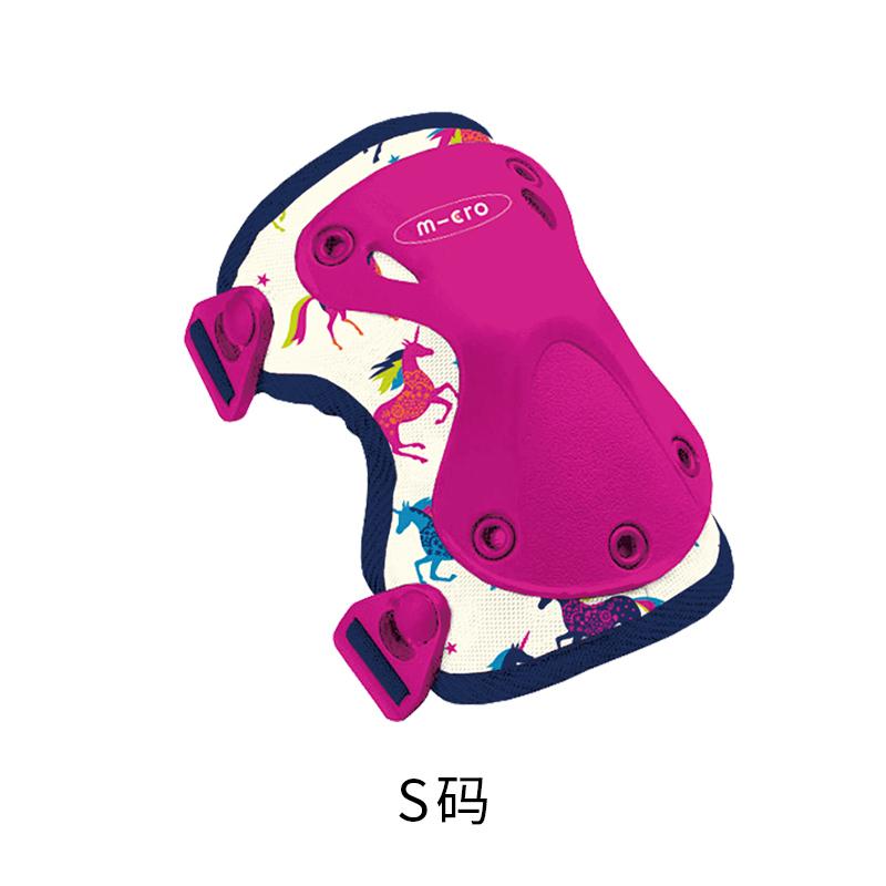 [신제품 목록] 마이크로 킥보드 악세사리 Maigumigao 아동 보호기 스쿠터 안전 액세서리 무릎 패드 및 팔꿈치 패드 두껍게, 유니콘 S 코드