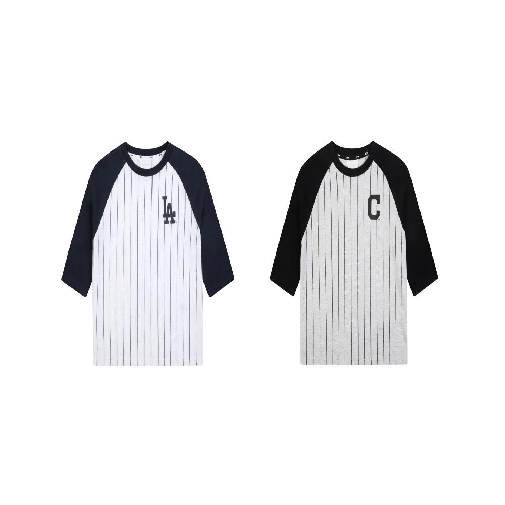 [MLB키즈] 스트라이프 라글란 7부 티셔츠 LA다저스71TS22041