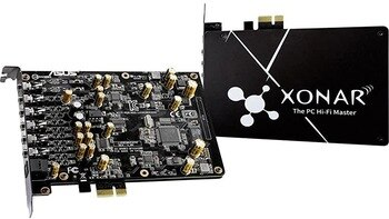 [해외] 사용 된 ASUS 사운드 카드 XONAR AE 192KHZ24 비트 고화질 음질 7.1 PCIE 게임용 사운드 카드, 상세내용표시