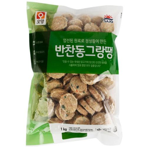 [사조오양] 반찬동그랑땡(1kg)_식자재쇼핑몰, 1개