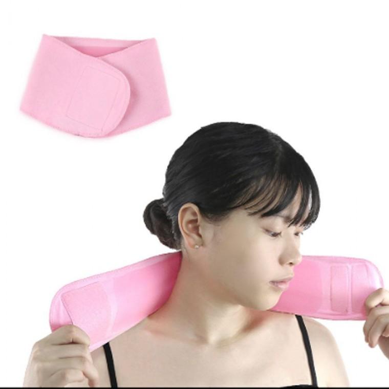 목주름보습밴드 보습밴드 넥마스크 넥패치 목패치 목마스크 목주름패치 목주름팩 목마스크팩 넥마스크팩, 핑크, 핑크