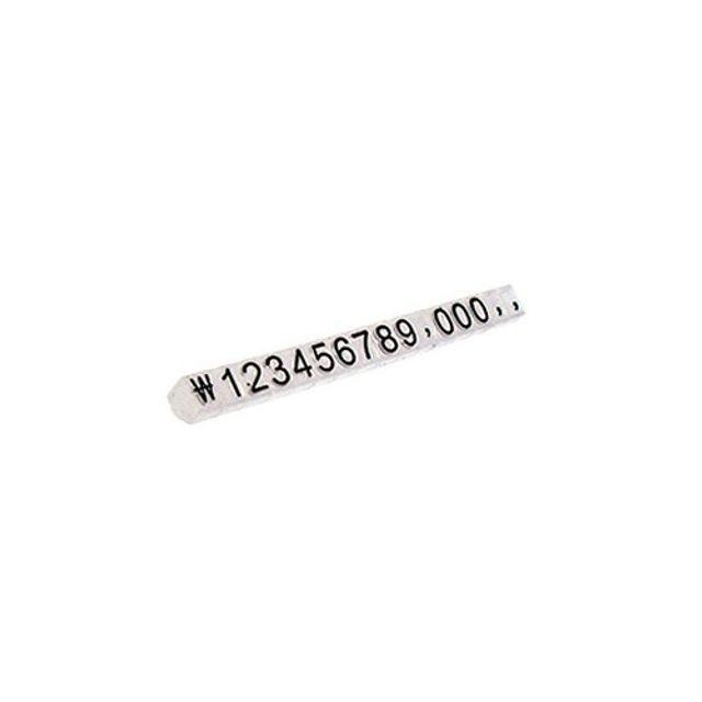 RNC835246백화점 투명 문구점 삼각 조립식 가격표시 5개 (소)