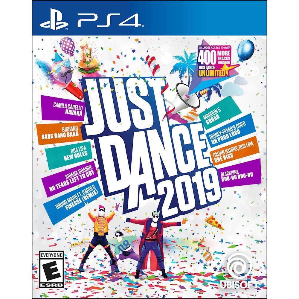 플레이스테이션 PS4 타이틀 저스트댄스 2019 Just Dance, 단일모델