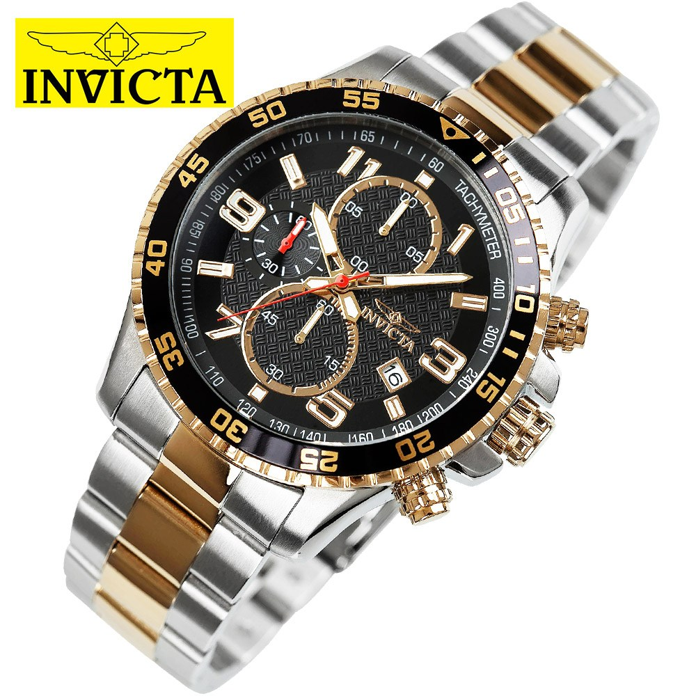 INVICTA 한국공식수입원 정품 인빅타 남성용 크로노그래프 메탈손목시계 14876(인빅타 쇼핑백 증정)