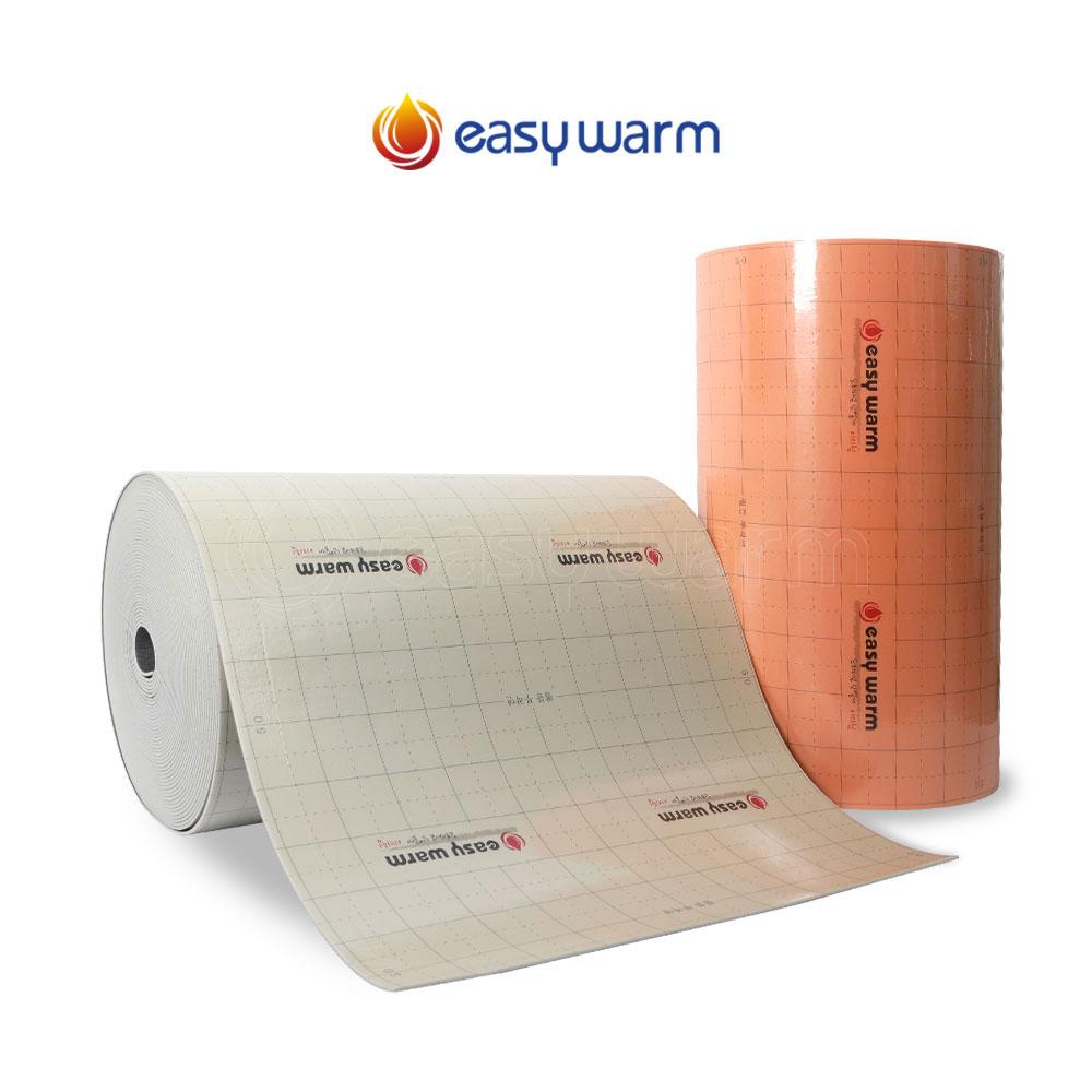부경이지웜 단열폼 보온시트 비접착식 50m 시공 바닥단열재, 4T 50M (이지웜/비점착)