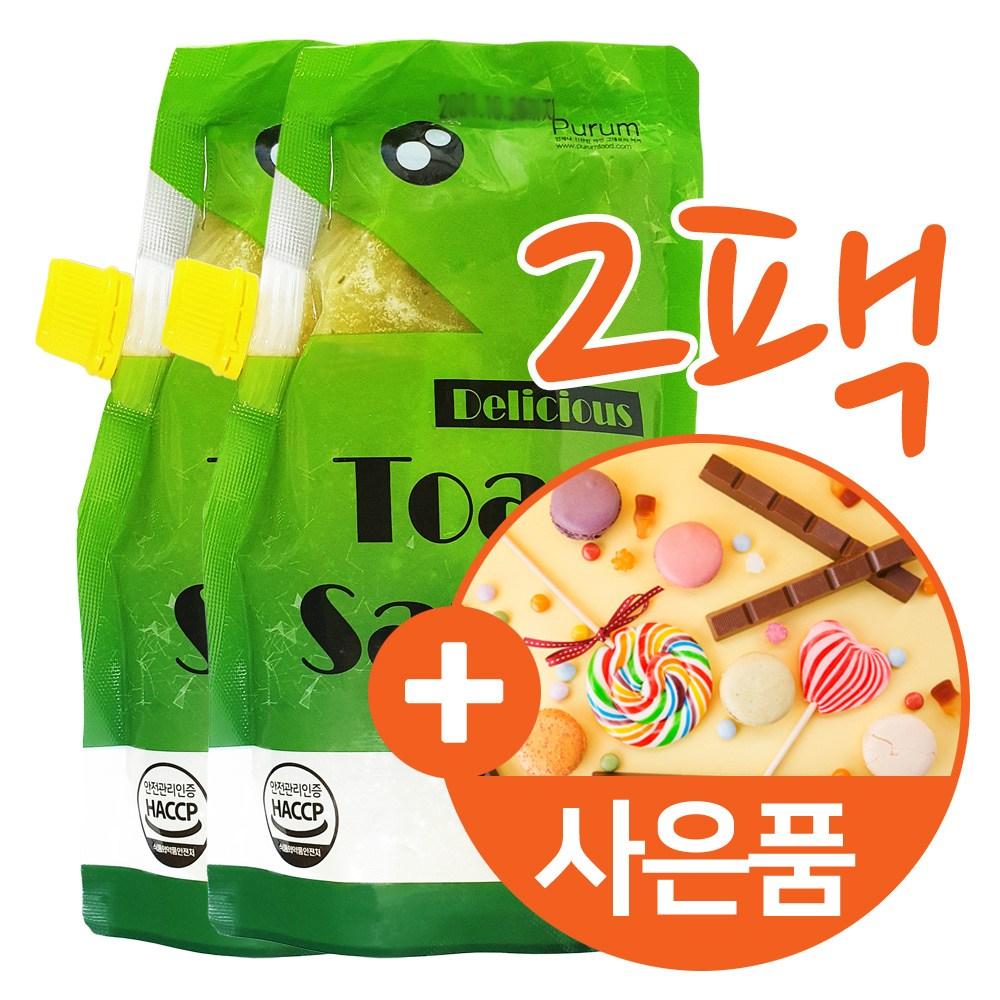 푸름 길거리 마약 토스트 샌드위치 소스 햄버거 식빵 바게트 만들기 셀프 홈메이드 레시피 비법 아이들 간편 간식 야식 시럽 잼 마요네즈 소스 2팩