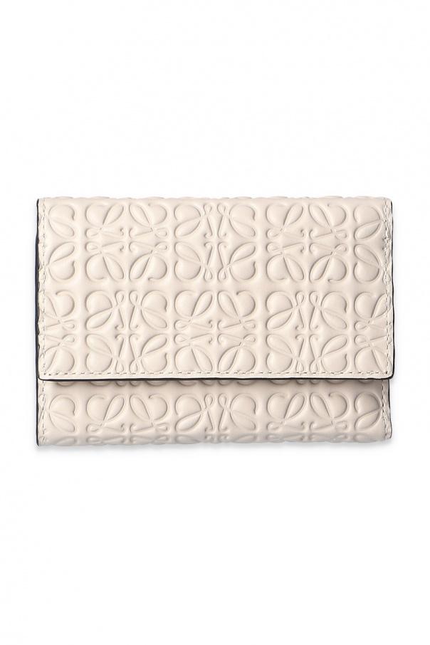 로에베 지갑 with embossed pattern 10755S97 0-LIGHT OAT 150불 이상 주문시 부가세 별도