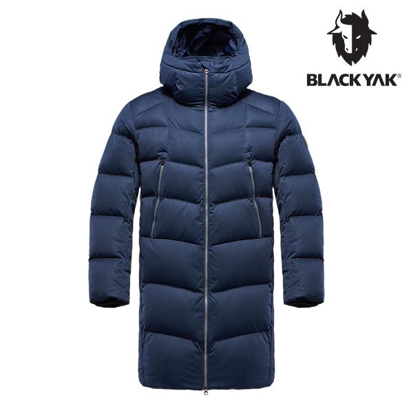 블랙야크 남성 테라 구스다운자켓 딥네이비 1BYPAW8015