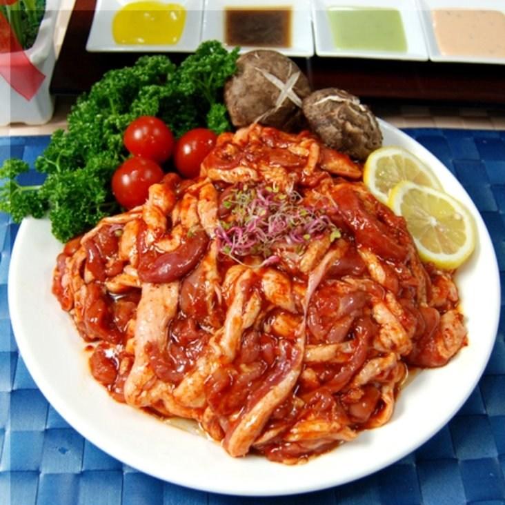 복오리 [국내산 생오리] 유황먹인고추장불고기(냉동), 1봉, 고추장오리불고기 1Kg