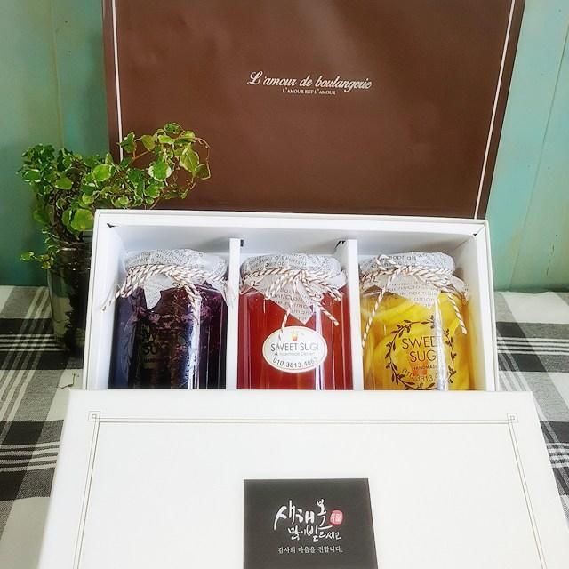 과일청 수제청 자몽청 레몬청 수제과일청 선물세트, 수량, SET 1
