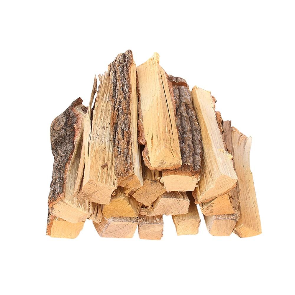 (약속몰)참나무군 참나무장작 대용량 불멍장작 펠렛연료 스토브, 캠핑용장작(약10kg) 1개