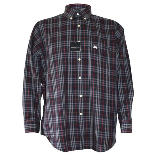 버버리 BURBERRY SMS-014-01 남성 체크 셔츠-7-4510033299