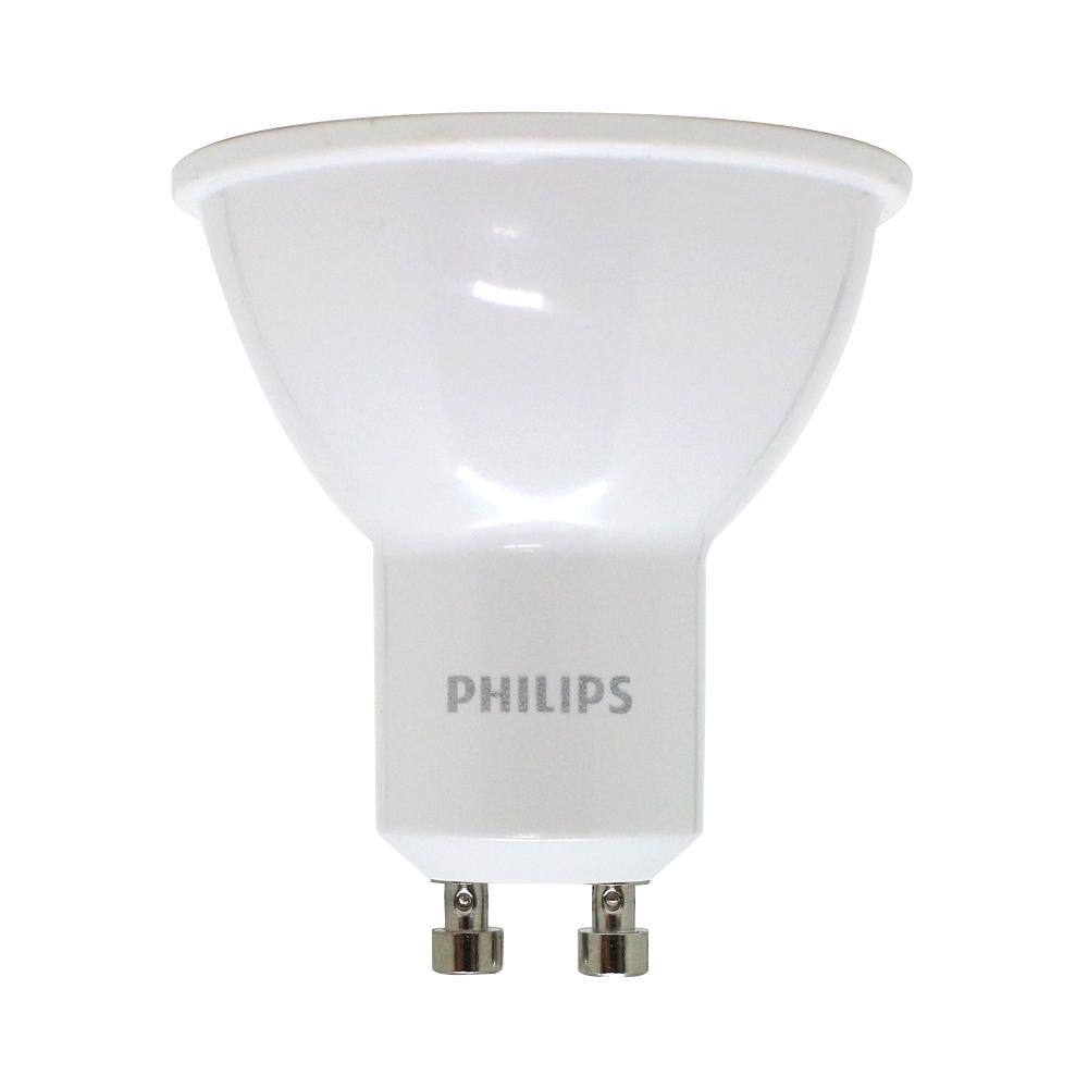 필립스 LED GU10 4.5W 전구색(노란색), 단품, 전구색