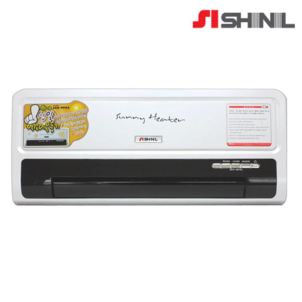 신일 벽걸이형 온풍기 전기온풍기 벽걸이 리모컨 벽걸이히터 SEH-WP50R, 화이트, SEH-WP2A