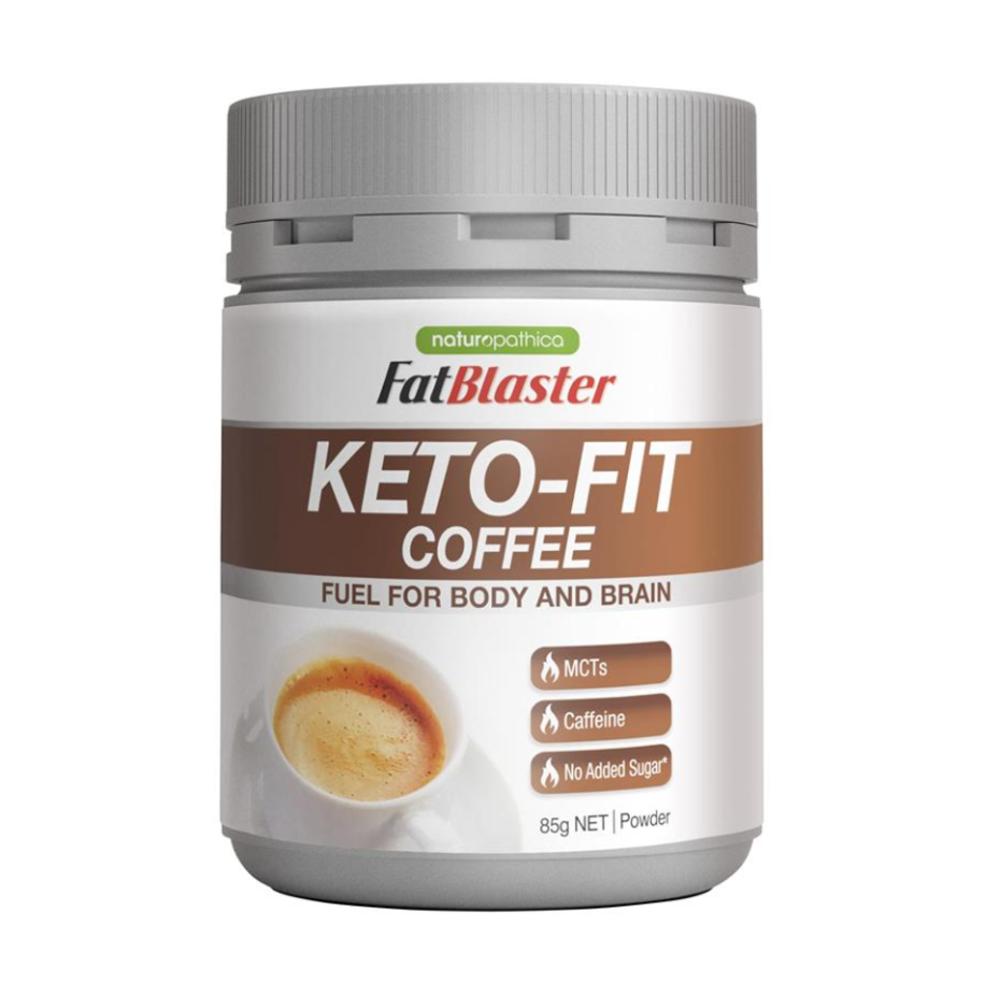(호주) 팻블라스터 케토 핏 다이어트 체중감량 살빠지는 커피 Naturopathica Fatblaster Keto Fit Coffee 85g