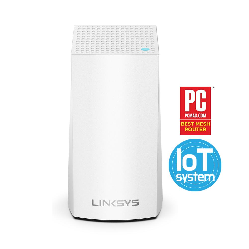 링크시스 벨롭 묶음할인 메시 와이파이 Wi-Fi 듀얼밴드 기가비트 공유기 AC1300 무선공유기 1팩+벽면거치대, 1팩_WHW0101-KR