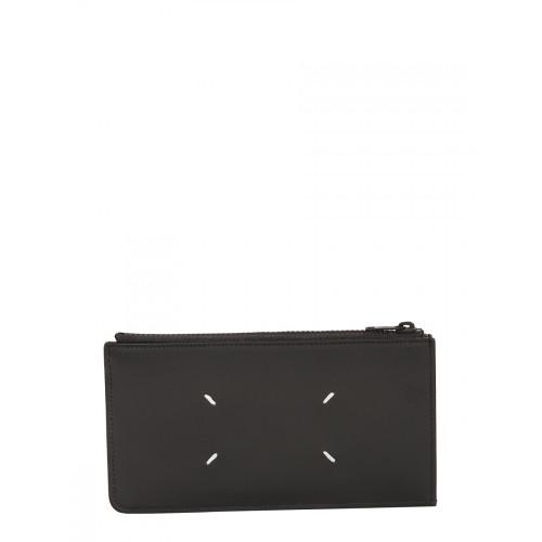 메종 마르지엘라 [루플랫] 남성 지갑 위드 로고 S55UI0206_PS935T2154 블랙