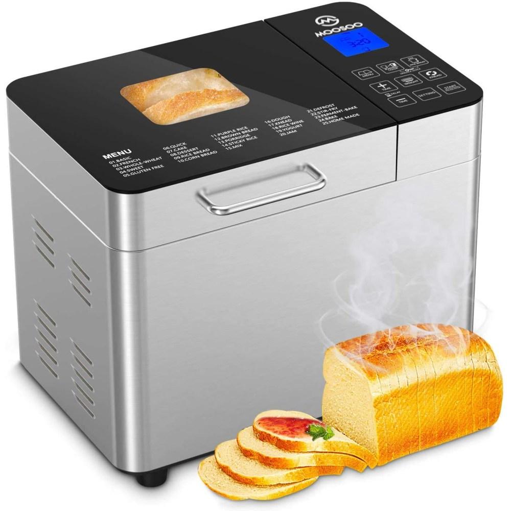 자동 간편 식빵 제빵기 반죽 발효기 25가지 홈베이킹, 단일상품