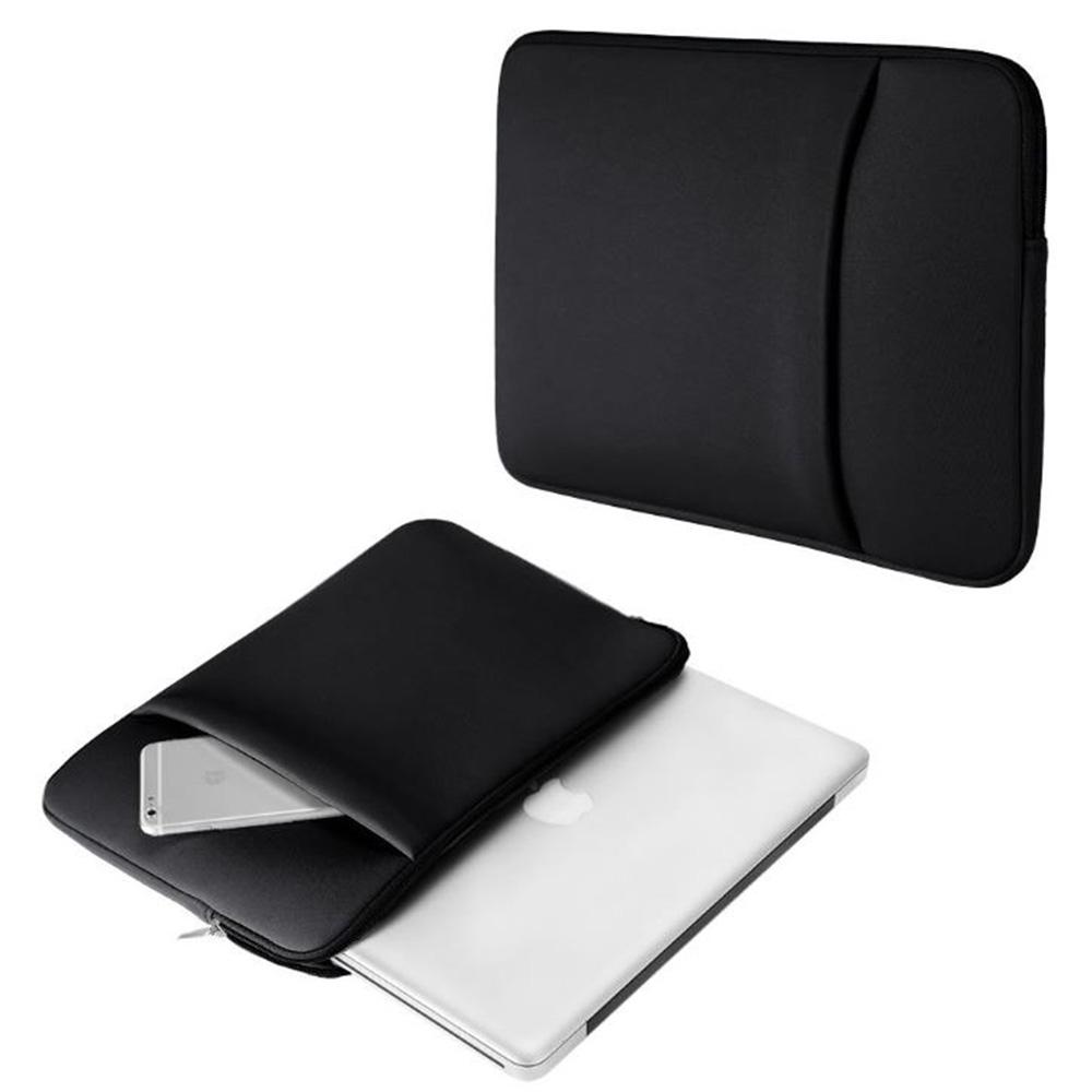 삼성 갤럭시북 이온 13 15인치 나일론 수납 포켓 파우치, 블랙