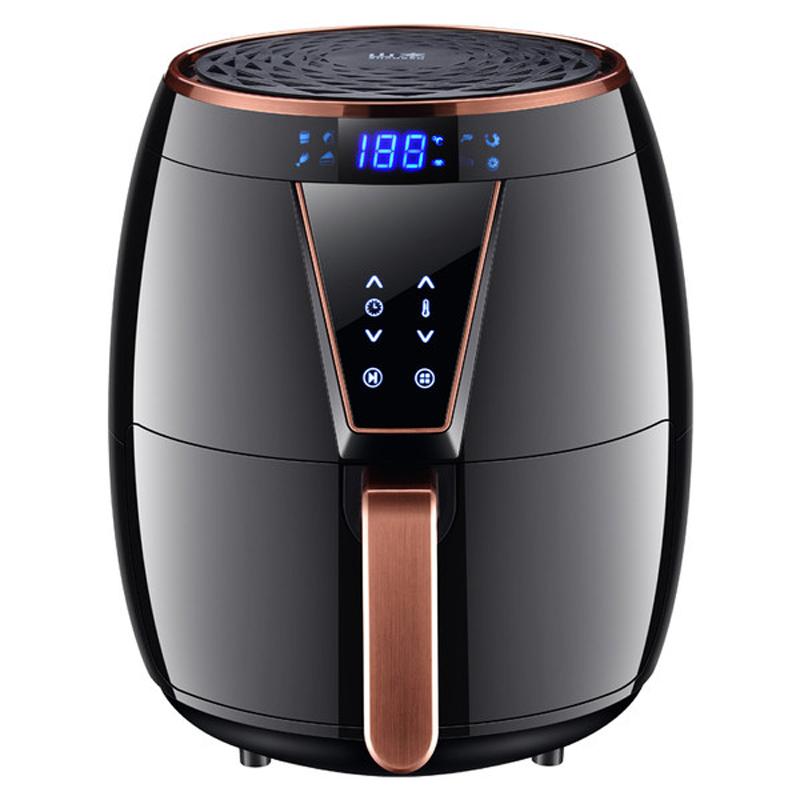 에어프라이어 SHANBEN6828가정용 국다용도 감자튀김기 4.5L대용량 전자동 무유연 전기프라이어, T01-블랙색