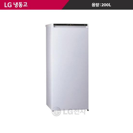 [K쇼핑] [LG] 냉동고 F-A201GDW (200L), 단일상품