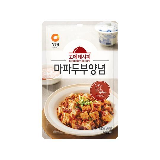 청정원 고메레시피 마파두부양념 140g, 단품, 단품