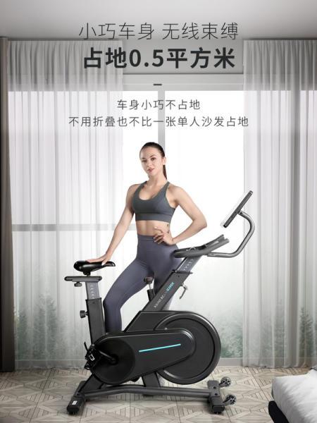 크리스 실내라이딩 입식사이클 유산소운동 헬스장 무소음 좌식 샤오 미 Youpin Xiaoqiao 스피닝 자전거 가정용 스, Q100 기본 버전  플라이휠은 모든 기능을 포함하지 않