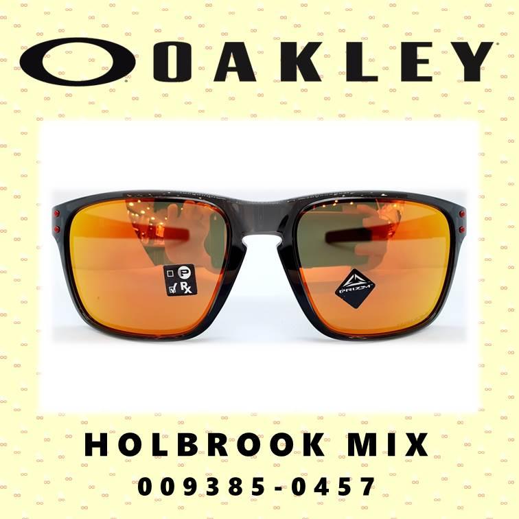 오클리 홀브룩MIX 메탈 우레탄다리 스포츠 고글 선글라스, OO9385-0457