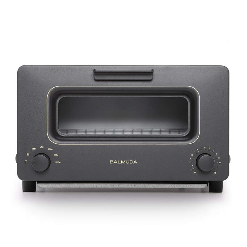 BALMUDA/BALMUDA The Toaster 다기능 스팀 오븐 토스터 세금 검은색 K01E 변압기 사용, 상세페이지 참조