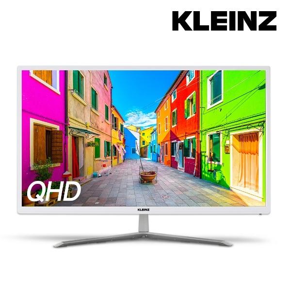 라온하우스 [클라인즈] 27인치 와이드 모니터 QHD 60Hz / HDMI DP포트 DVI 블루라이트 차단 조준선 표시 Free Sync 스피커, 515356