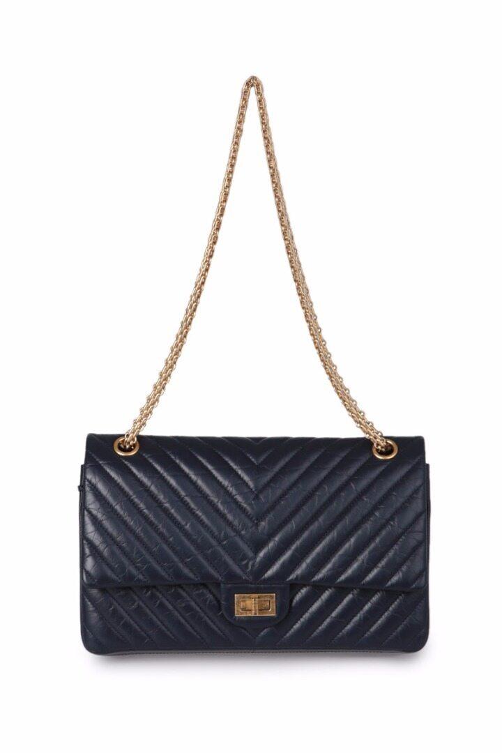 [Chanel]Chevron 2.55 Large Flap Bag