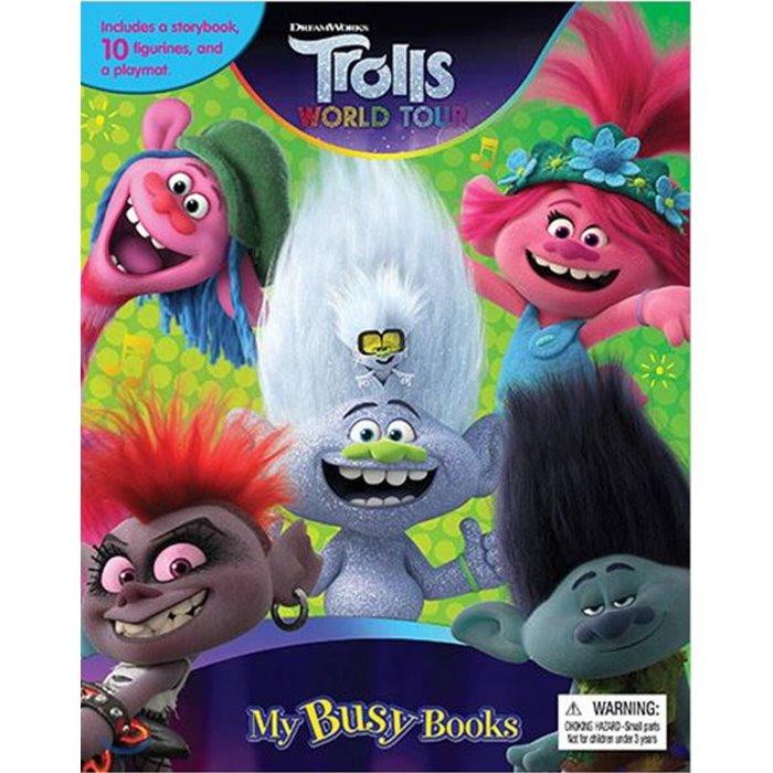 DreamWorks Trolls World Tour My Busy Books : 드림웍스 노래하는 요정 트롤 월드 투어 비지북, Phidal