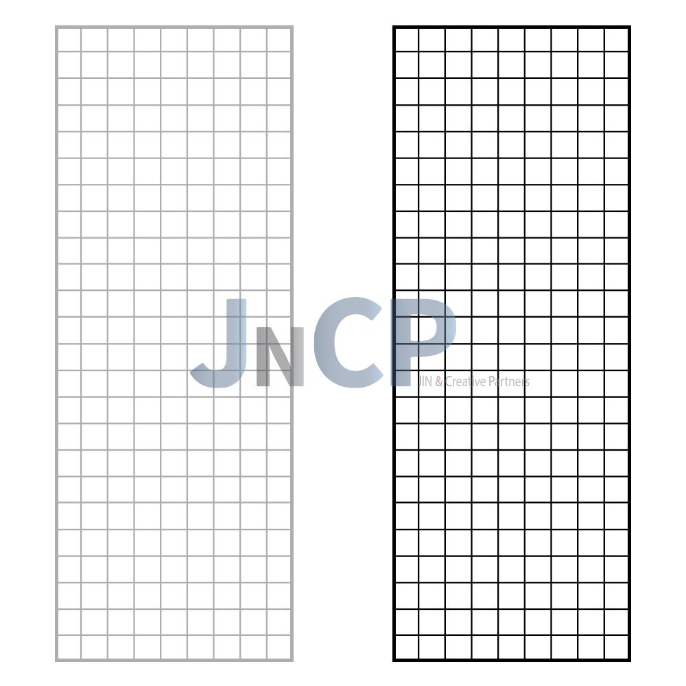 JNCP 휀스망 45x120cm 메쉬망 네트망 철망 악세사리진열대 방묘 후크, 1개