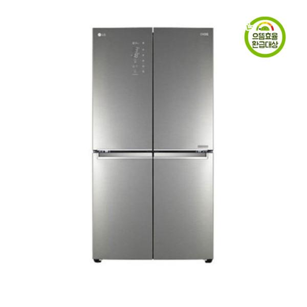 [엘지] LG전자 F871SN55E 디오스 더블 매직스페이스 4도어 양문형 냉장고 870L, 상세 설명 참조