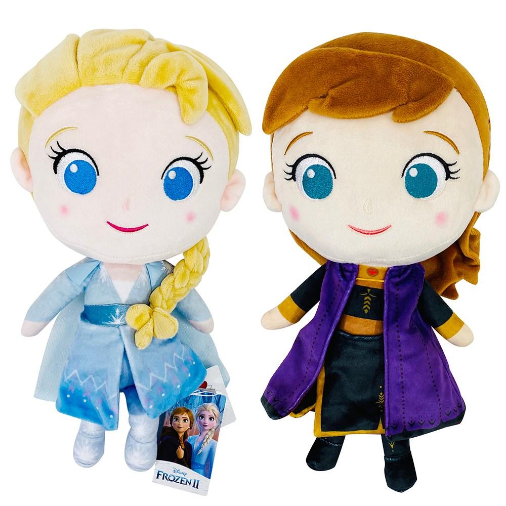 디즈니 겨울왕국2 엘사 안나 30cm 정품 봉제인형 캐릭터인형