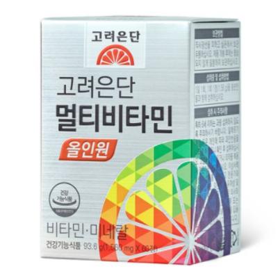 고려은단 멀티비타민 올인원 60정, 3개