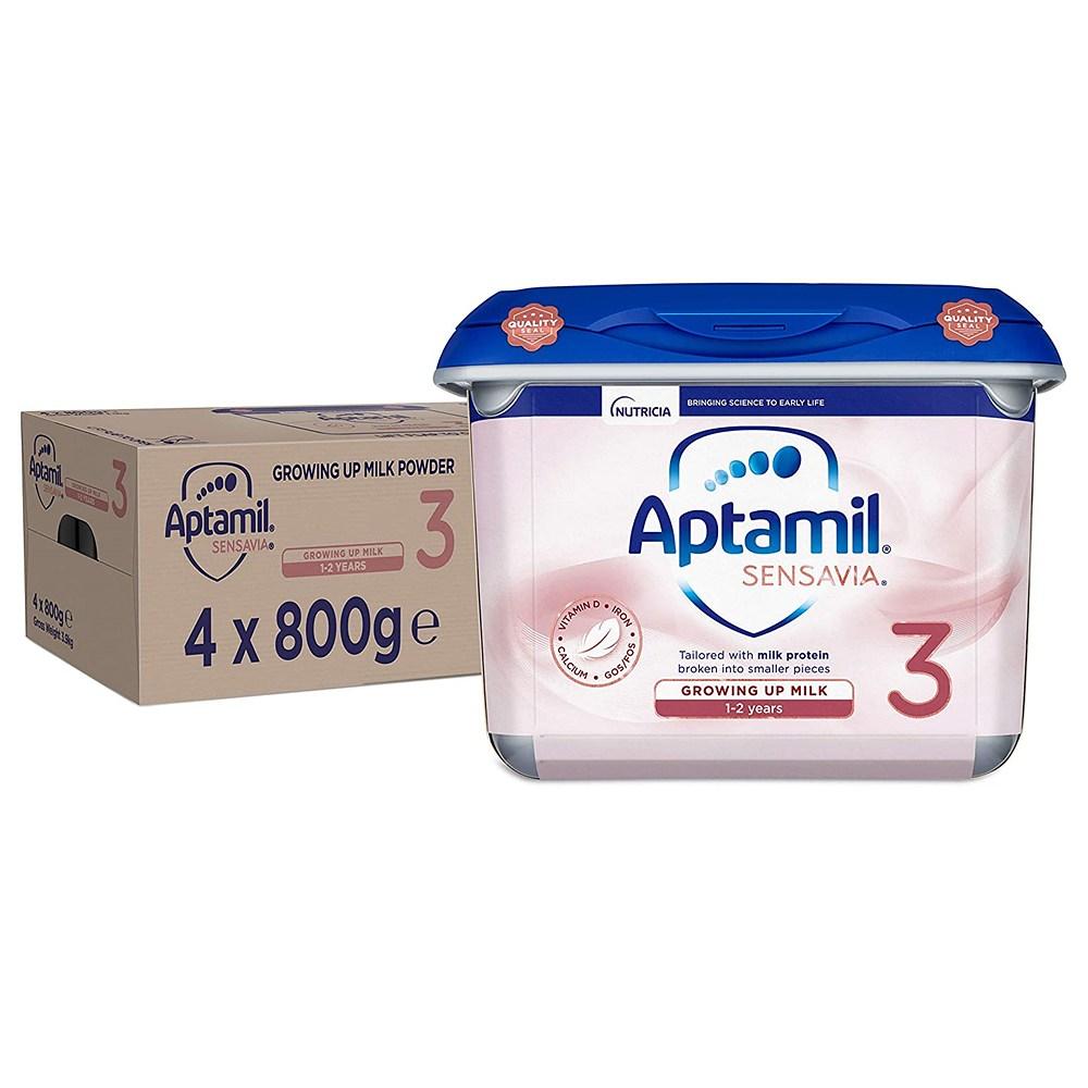 Aptamil 영국 압타밀 3단계 Sensavia 센사비아 분유 (4개x800g)