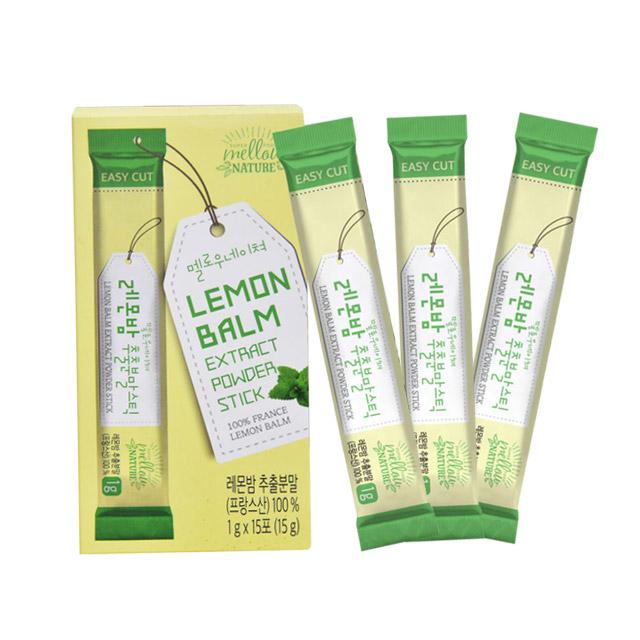살빠지는 레몬밤 추출분말 차 다이어트 효능 먹는기좋은 스틱형 로즈마린산 3box