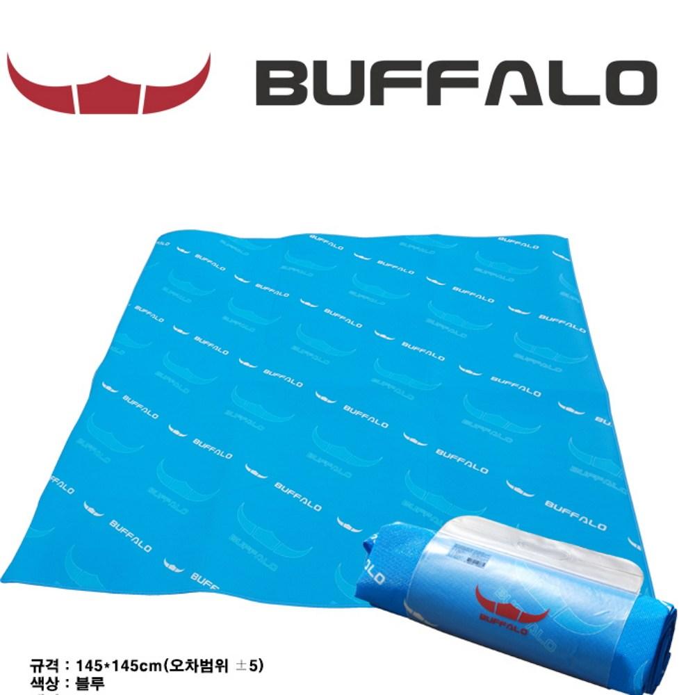 정품BUFFALO 버팔로 등산 캠핑 145x145cm 돗자리 매트, 단품