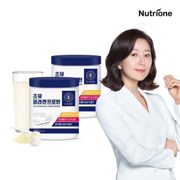 [뉴트리원] 김희애 초유 콜라겐 프로틴 2통 4주분 /단백질 프로틴, 상세 설명 참조, 상세 설명 참조
