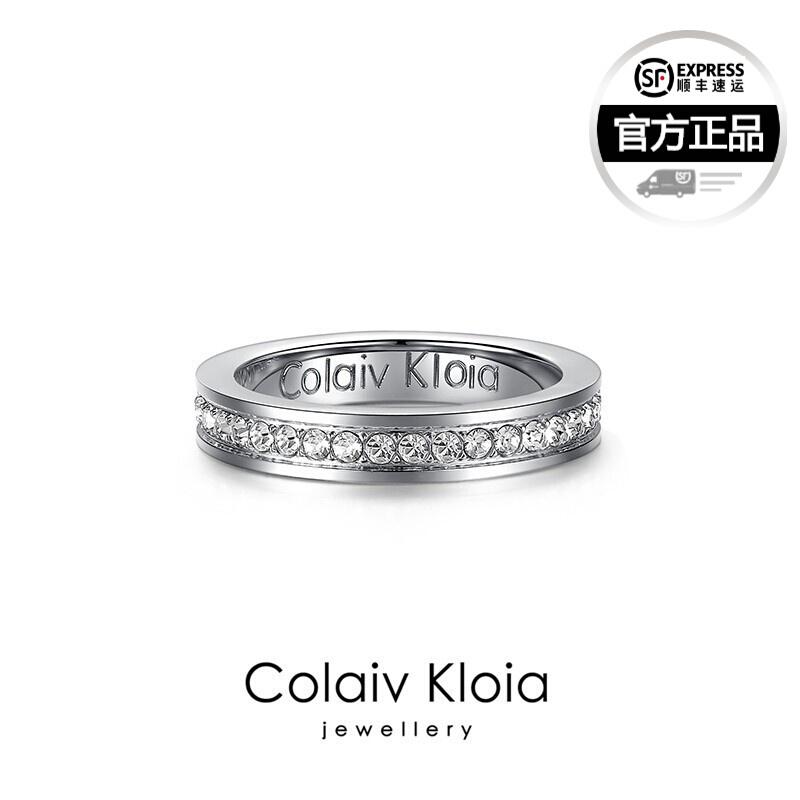 ColaivKloia 공식 홈 페이지 정품 여름 CK 5 - 0301 반지 커 플 반지 순은 한 쌍 의 안개 꽃 남녀 패션 개성 클래식 CK 안개 꽃 미 호 5 호