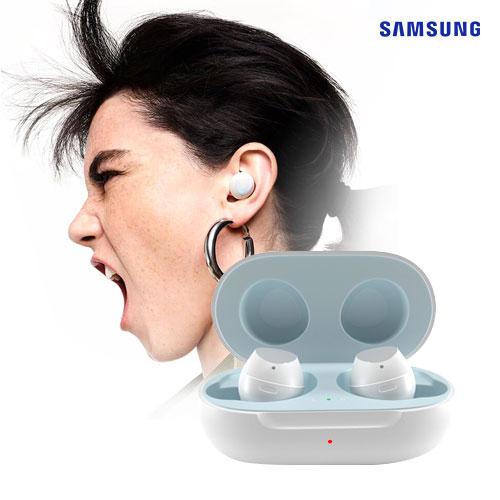 [삼성] 정품 갤럭시버즈 풀패키지 무선이어폰 스마트폰공용 코드리스 커널형 블루투스 주변소음듣기, 화이트