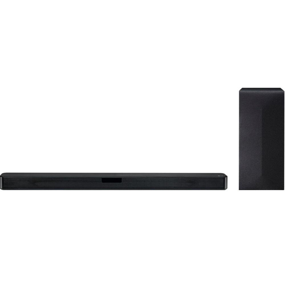 LG (LG SL4Y) 2.1-Channel 300W Soundbar System with 6 Subwoofer - Black, LG SL4Y